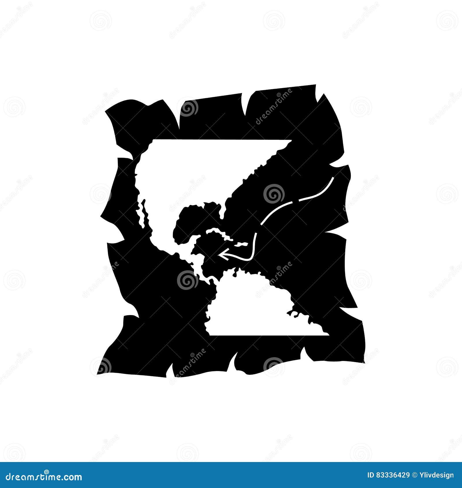 USA Map Flag Icon Stock Vector Juliarstudio  Usa Map - Map usa vector