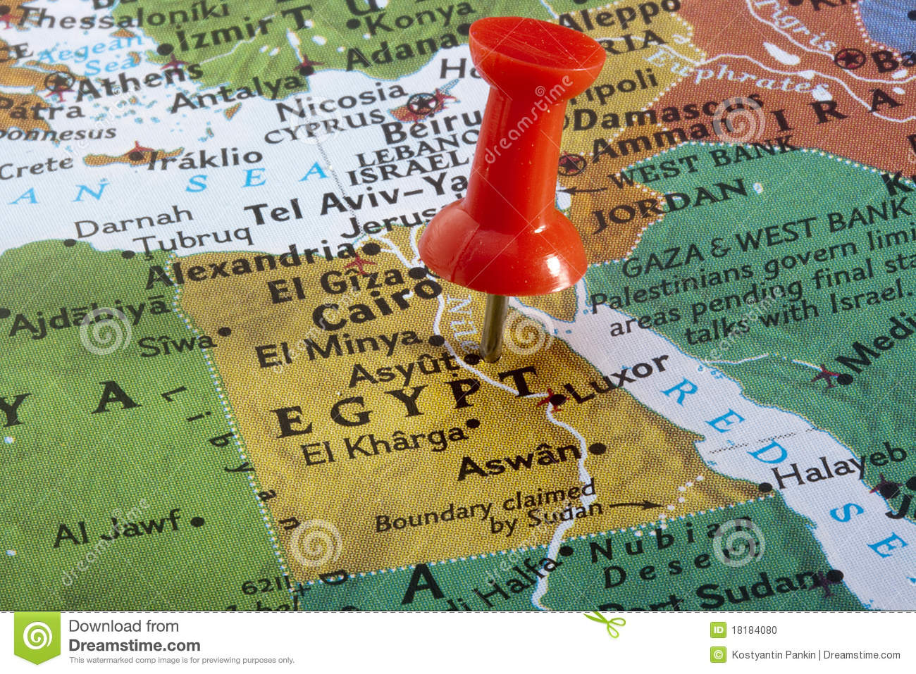 Map Of Egypt Stock Photo Image - Map of egypt only