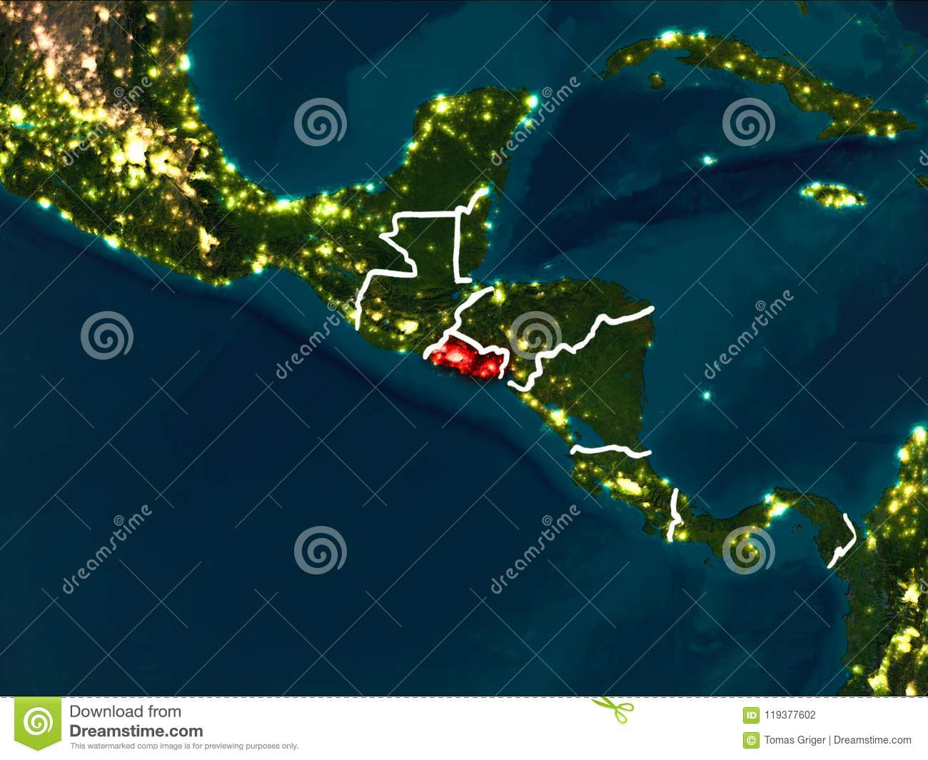 Map Of El Salvador At Night Stock Illustration ... Satellite Image Photo Of El Salvador on new zealand satellite, venezuela satellite, vietnam satellite, spain satellite, argentina satellite, barbados satellite, honduras satellite, india satellite, georgia satellite, brazil satellite, cuba satellite, puerto rico satellite, fertile crescent satellite, israel satellite, madagascar satellite, italy satellite, north korea south korea satellite, japan satellite, yucatán peninsula satellite, latin america satellite,