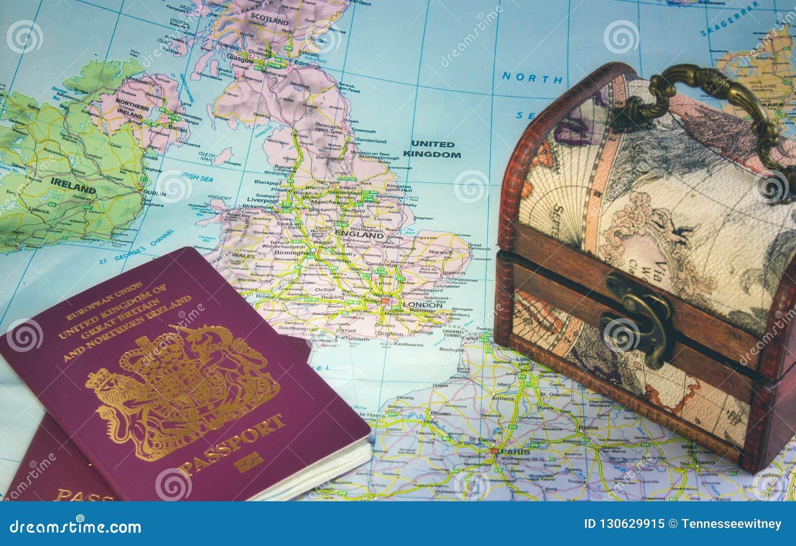 Map Of Europe And The Uk.Map Of Europe Showing The Uk England Ireland France British