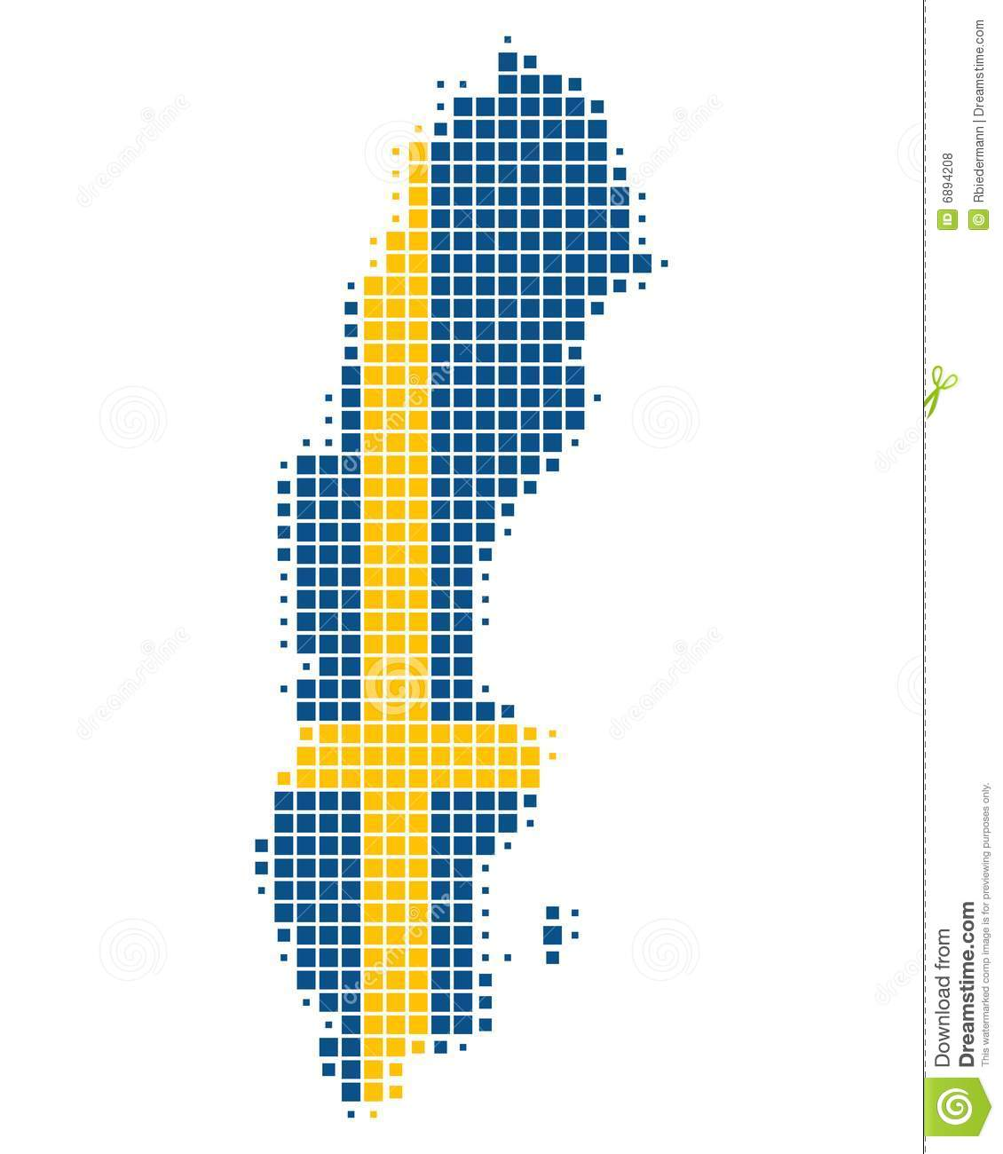Map And Flag Of Sweden Royalty Free Stock Photos Image - Sweden map free