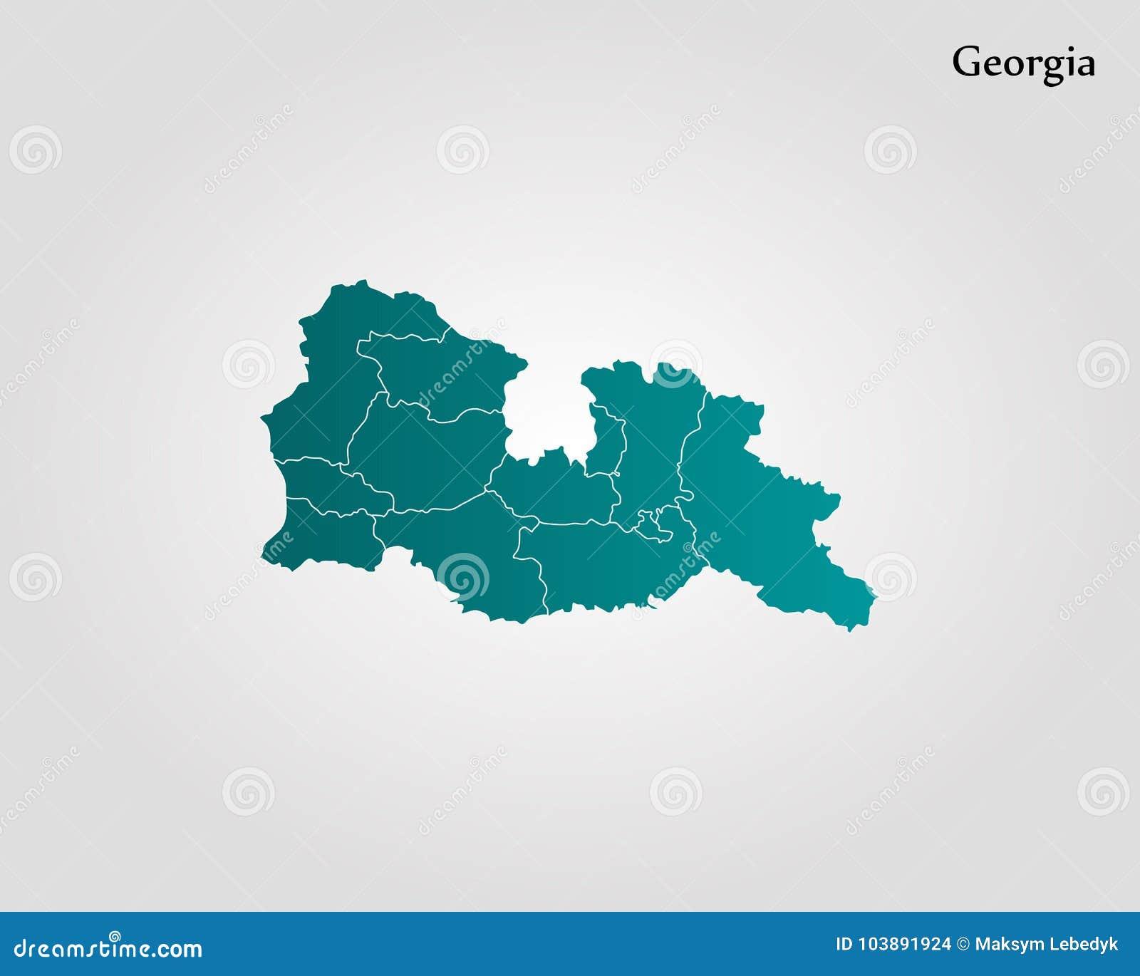 World Map Of Georgia.Map Of Georgia Stock Illustration Illustration Of Icon 103891924
