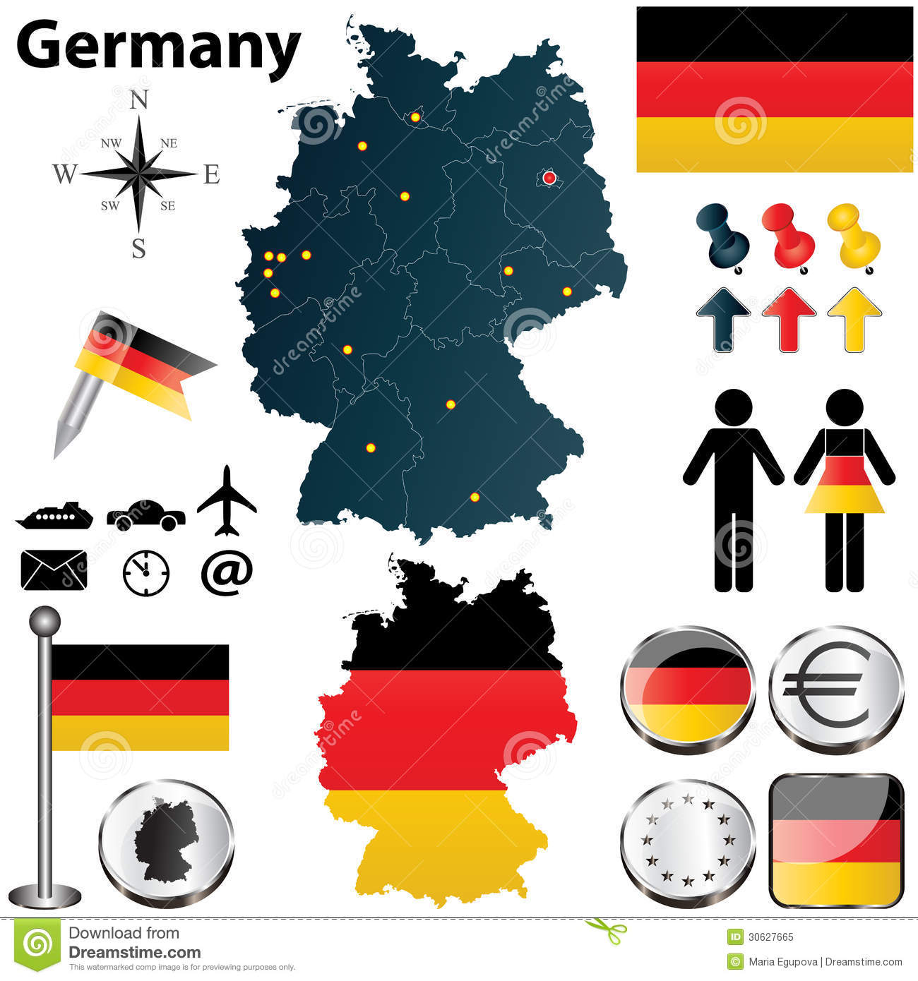 Over the Next Year, Germany Will Hit a Scary Demographic ... |Germany Regions Graph Chart
