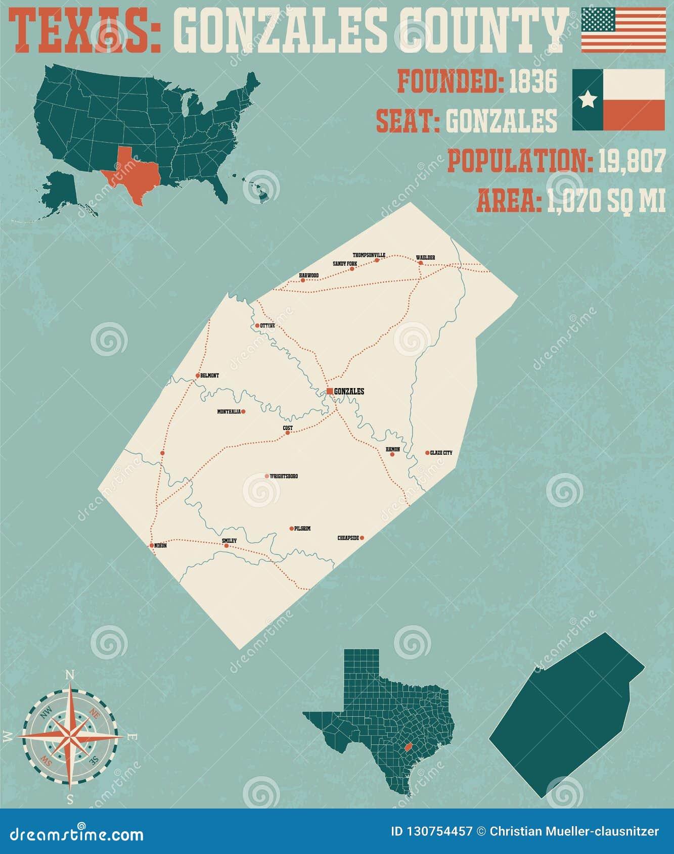 Map Of Gonzales County In Texas Stock Vector - Illustration ... Gonzales County Texas Map on rhome texas county map, brown county, caldwell county, marshall county texas map, colorado county, madisonville county texas map, collingsworth county texas map, dewitt county, brownwood county texas map, gonzales texas on a map, karnes county, colorado county texas map, gonzales texas aerial, lavaca county, zavala county, fayette county texas road map, harrison county texas map, fannin county, harris county, guadalupe county texas map, bryan county texas map, gonzales texas 2014, benton county texas map, adams county texas map, beaumont county texas map, bell county, wilson county, mclennan county, lavaca county texas map, kingsville county texas map, comal county, guadalupe county, jackson county, burnet county, san antonio county texas map, bexar county, pasadena county texas map,