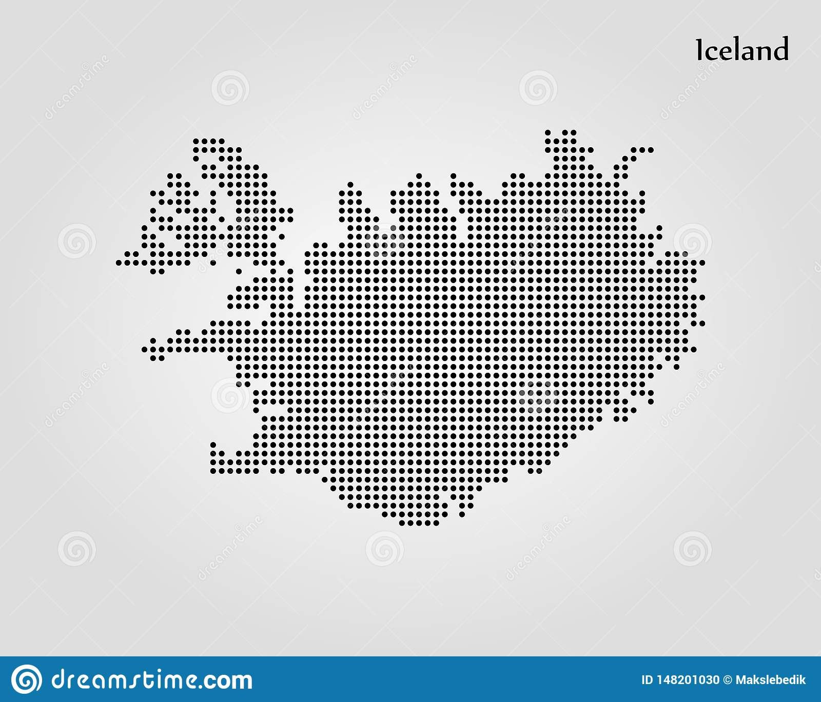 Map Of Iceland. Vector Illustration. World Map Stock ...