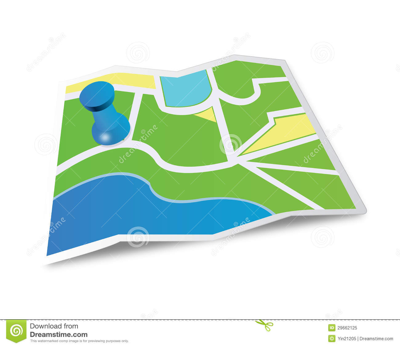 Map Icon Royalty Free Stock Photo - Image: 29662125