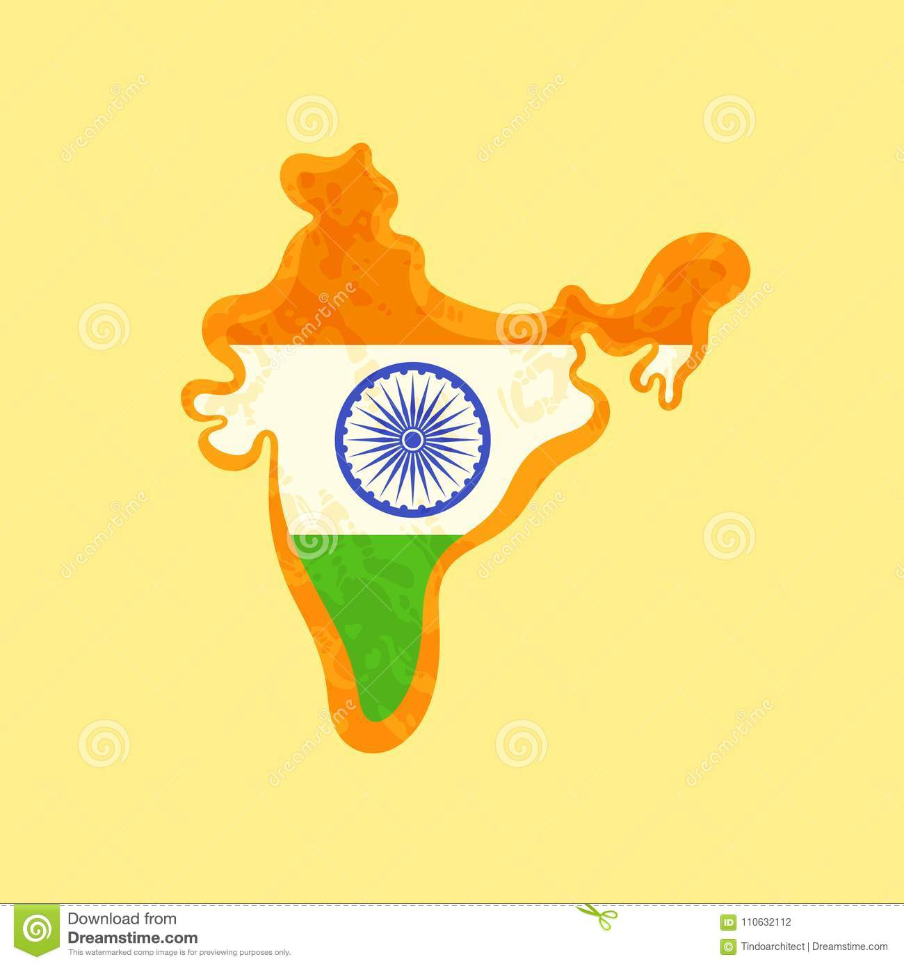 India - Map Colored With Indian Flag Stock Vector ... on highlighted map of india, abstract map of india, national geographic map of india, world map india, chinese map of india, plain map of india, colors of india, black and white map of india, transparent map of india, colored world map, large map of india, water map of india, labeled map of india, asian map of india, enlarged map of india, small map of india, full map of india, hindu kush map of india, elevation map of india, old map of india,