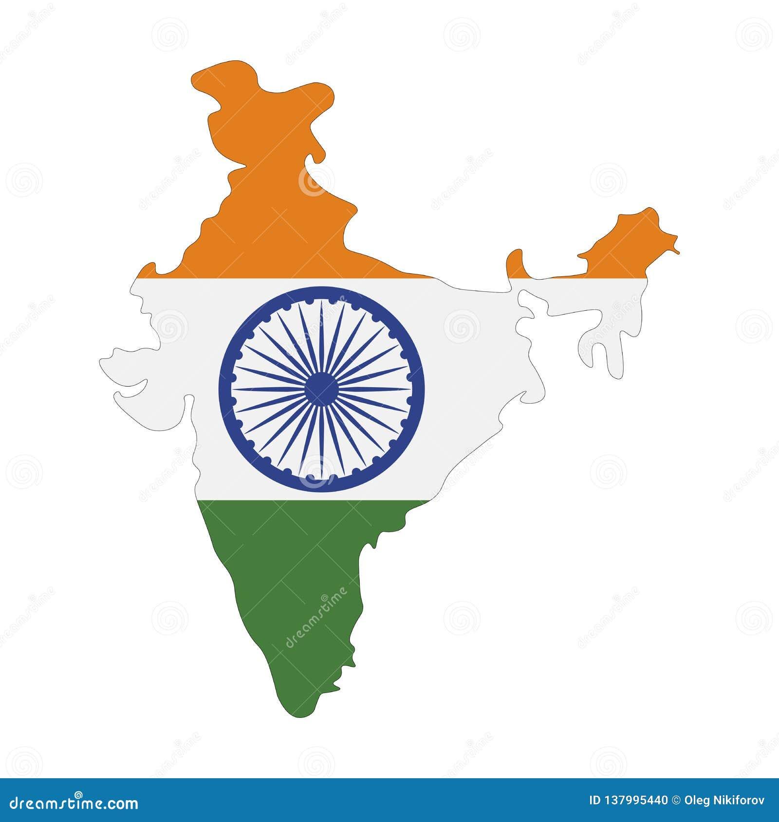 Cartina India.Map India Flag Stock Illustrations 4 226 Map India Flag Stock Illustrations Vectors Clipart Dreamstime