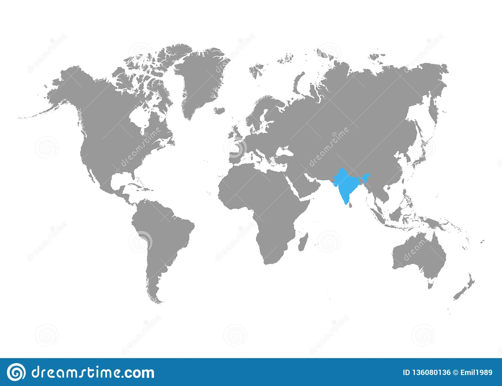 The Map Of India Is Highlighted In Blue On The World Map Stock ... India Map World Picture on digital technology in india, kashmir india, mumbai india, animals india, globe india, most beautiful places india, top religions in india, world yoga day in india, geography india, skype india, world maps before 1859, goa india, world continents india, people india, mountains in india, world from vietnam, world atlas, pitchers from india, places in india, states of india,