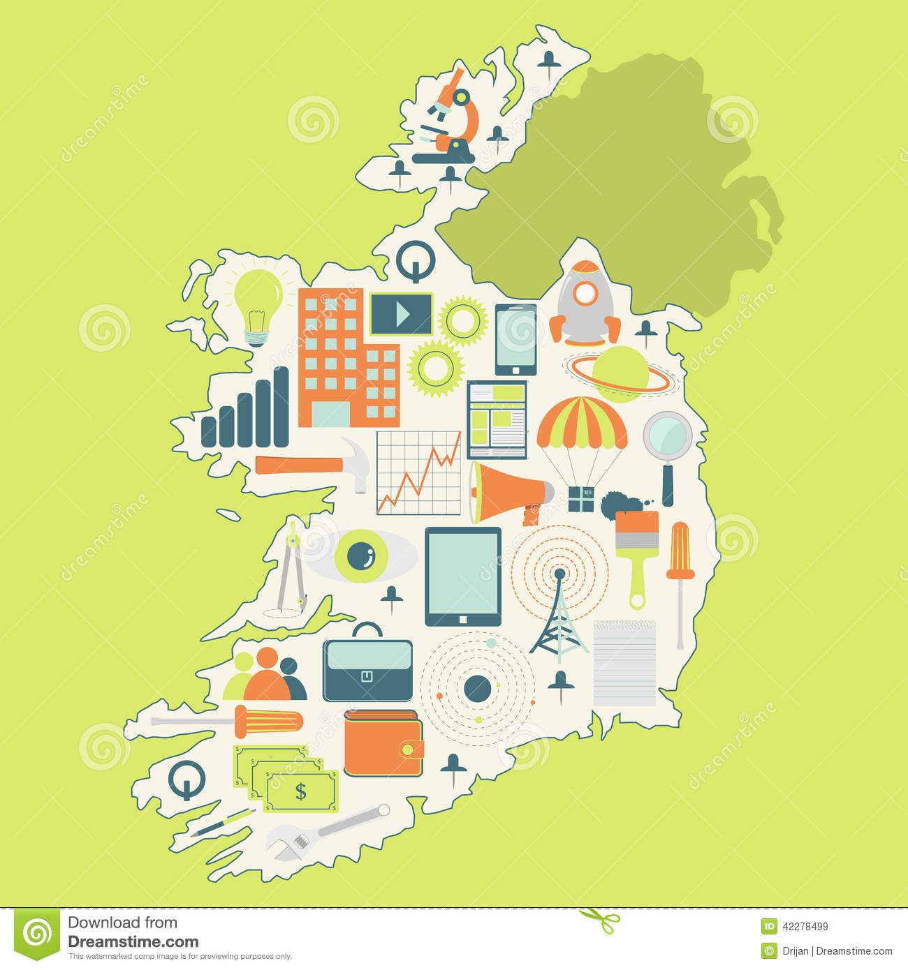 Map Of Ireland With Technology Icons Stock Vector ... Illustration Map Of Ireland on map of netherlands, map of european countries, map of japan, map of britain, map of british isles, map of dublin, map of skellig islands, map of denmark, map of united kingdom, map of ring of kerry, map of united states, map of prince edward island, map of eastern hemisphere, map of yugoslavia, map of northeast us, map of sweden, map of scotland, map of london, map of hong kong, map of philippines,