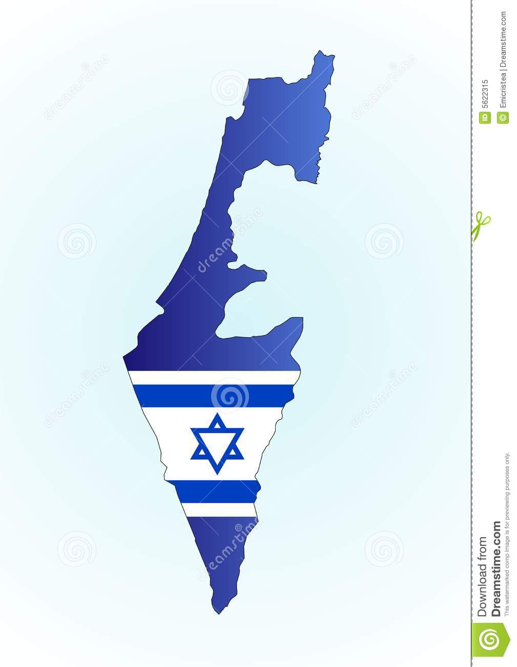 Map israel and flag stock vector illustration of computer 5622315 gumiabroncs