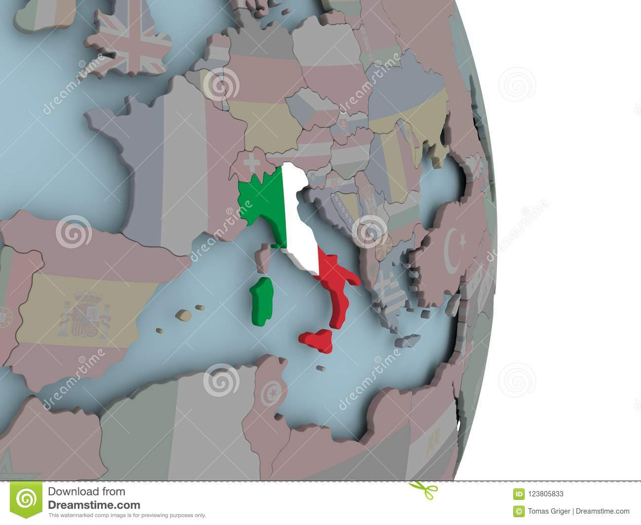 Map Of Italy On Political Globe With Flag Stock Illustration ... Globe Map Of Italy on globe map of russia, globe map of north america, globe map of california, globe map austria, globe map of japan, globe map of nepal, globe map of venezuela, globe map greece, globe map of south america, globe map of new zealand, globe map of malaysia, globe map of israel, globe map of netherlands, globe map of united states, globe map of pakistan, globe map of yemen, globe map of azerbaijan, globe map of norway, globe map of africa, globe map france,