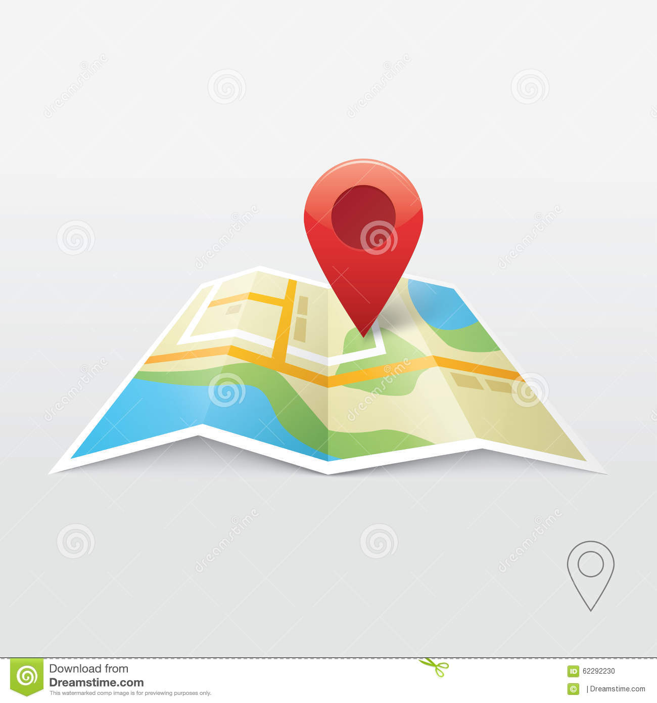 Map Pin Vector Logo Icon Template Travel Logo Vector – Travel Map Marker