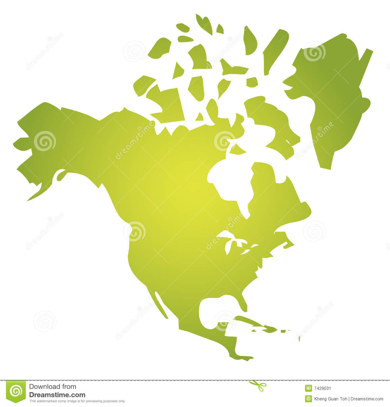 Map North America Stock Image Image - Download map of north america
