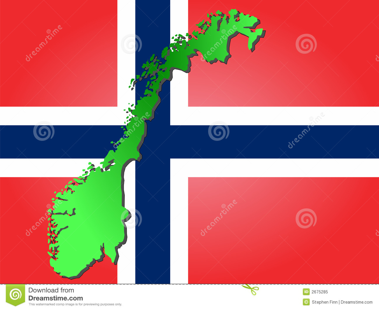 Map Of Norway Royalty Free Stock Photo Image - Norway map free