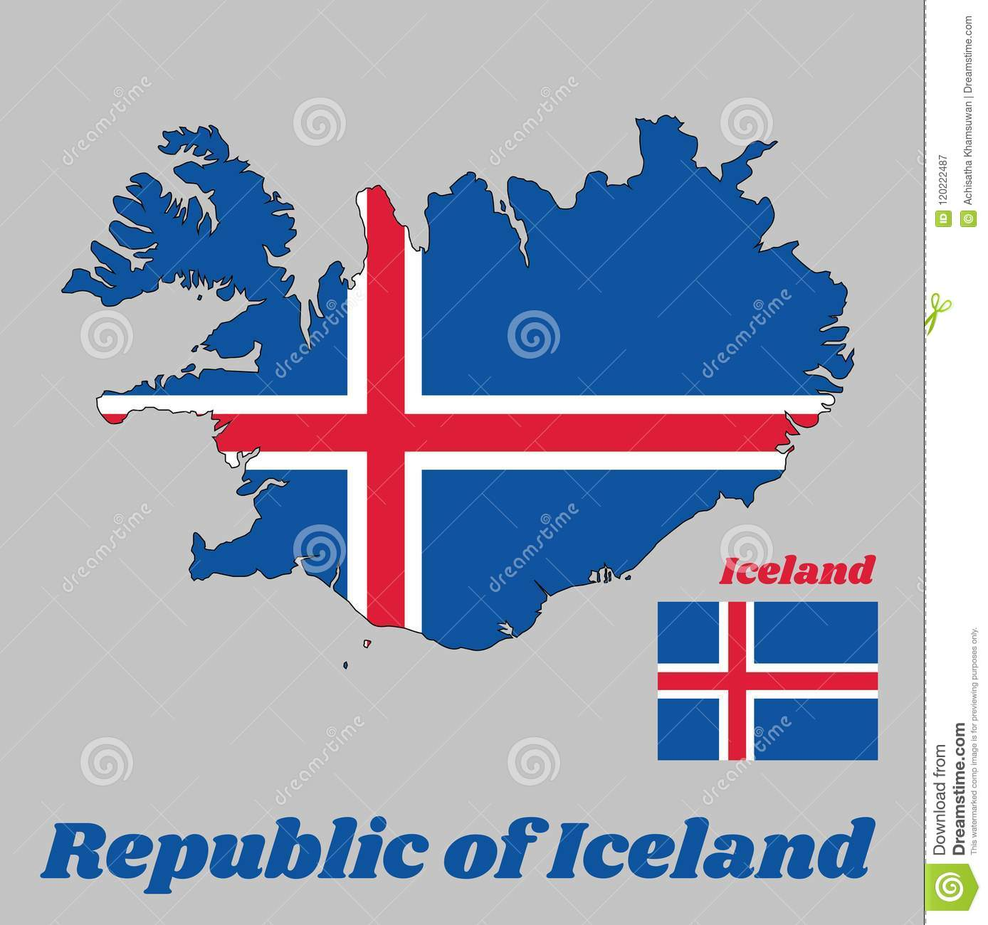 Map Outline And Flag Of Iceland, It Is Blue As The Sky With A Snow on burma map outline, south pacific islands map outline, norfolk island map outline, poland map outline, german states map outline, cape town south africa map outline, benin map outline, slovakia map outline, greenland map outline, cyprus map outline, the usa map outline, gambia map outline, macau map outline, st croix map outline, mauritania map outline, bangladesh map outline, holy roman empire map outline, far east map outline, russia map outline, aruba map outline,