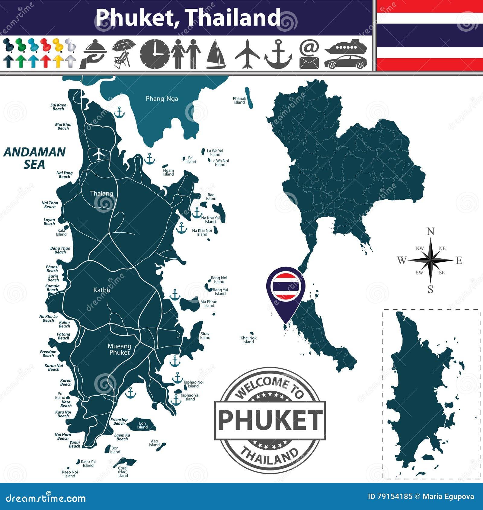 Thailand Map Regions Stock Illustration Image - Thailand regions map