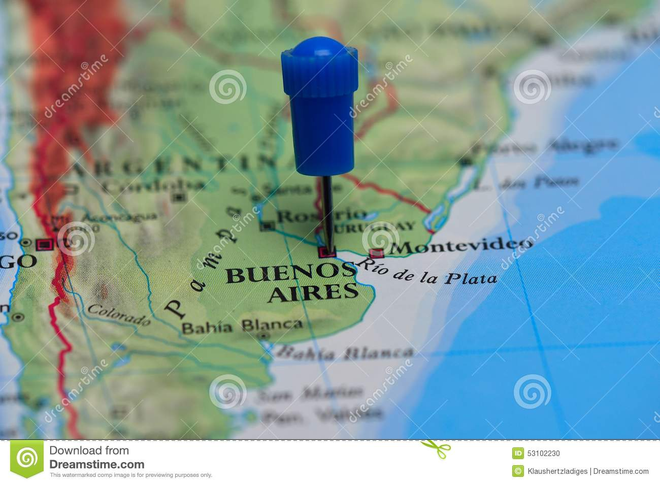 physical map of argentina with Stock Photo Map Pin Buenos Aires Argentina Cities Countries Blue Image53102230 on 6633 kaduna City Map Nigeria in addition Bandera De Alemania as well Rail Map together with Large Detailed Old Map Of Barcelona 1943 besides Brazil.