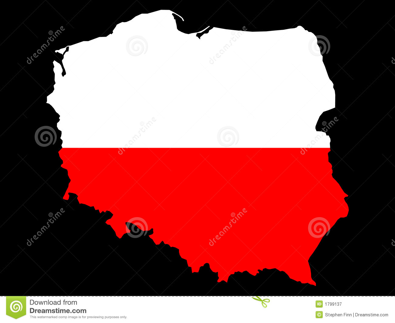 Map Of Poland And Polish Flag Stock Vector - Illustration of atlas ...