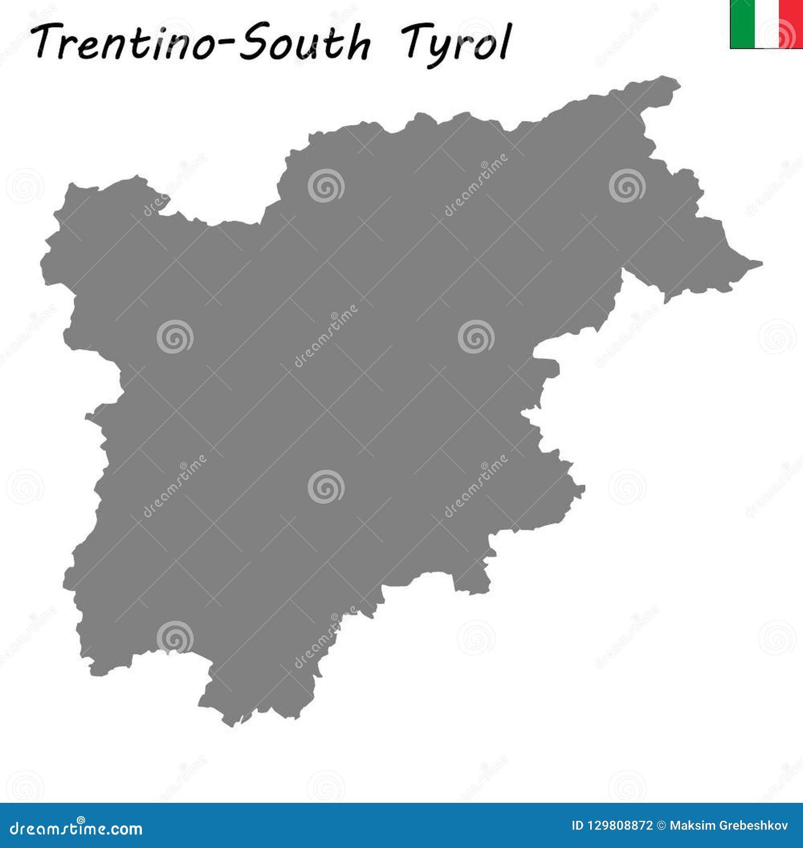 Region Italy Map.Map Of Region Of Italy Stock Illustration Illustration Of Center