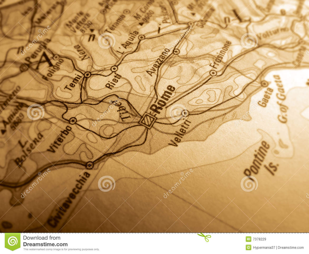 Map Of Rome Royalty Free Stock Images Image - Rome map download