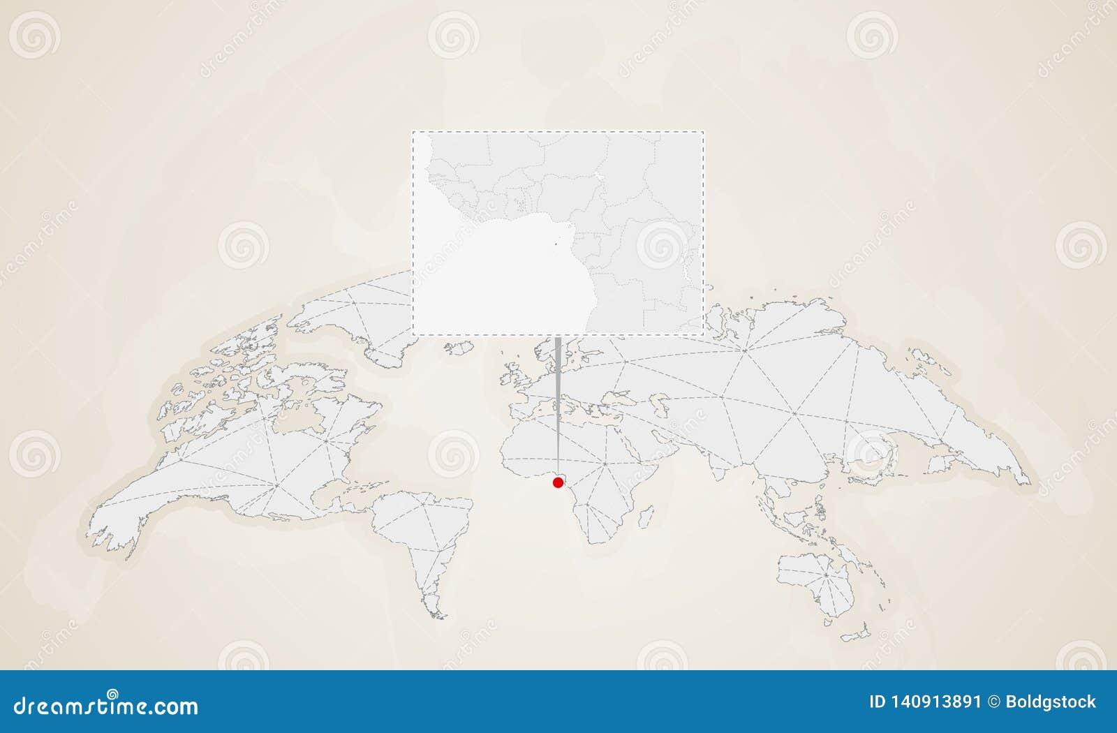 Map Of Sao Tome And Principe With Neighbor Countries Pinned ... Sao Tome World Map on saudi arabia world map, mauritania world map, laos world map, liberia world map, japan world map, botswana world map, portugal world map, angola world map, switzerland world map, congo world map, norway world map, guantanamo bay world map, burundi world map, peru world map, bangladesh world map, denmark world map, tonga world map, brazil world map, france world map, n korea world map,
