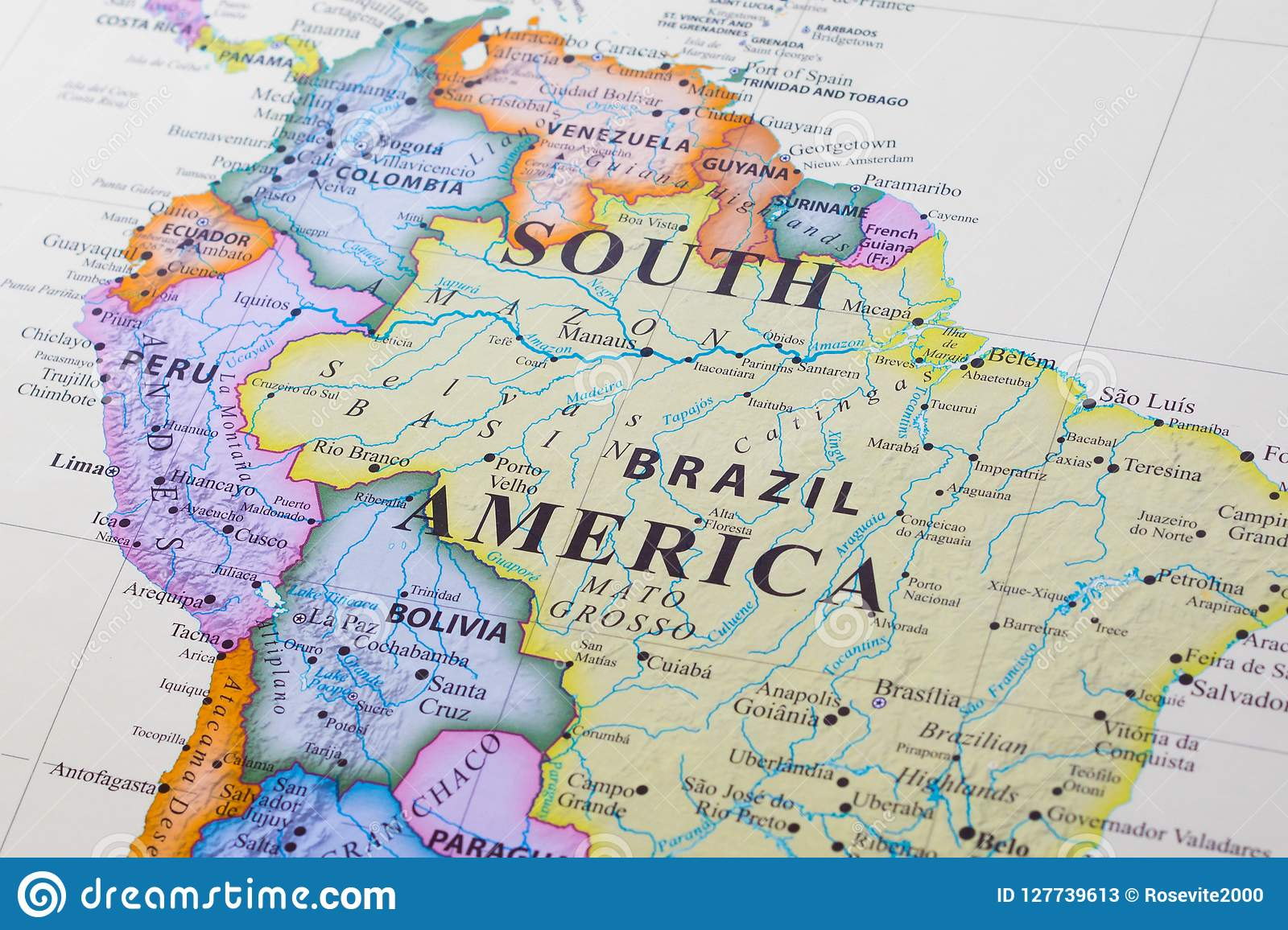 Map of South America stock image. Image of city, america ... Image Of Northern South America Map on major rivers in south america, map of northern ca wine country, map of northern east coast usa, map of north america natural resources, topography of northern south america, northern part of south america, map of north america without labels, map of latin america, map of northern lebanon, map of the northern america, political map of america, map of northern fiji, map of northern adriatic, map of northern ukraine, map of eastern north america, map of northern jordan, map of central america, map of northern south carolina, map of northern european rivers, map of northern wisconsin,