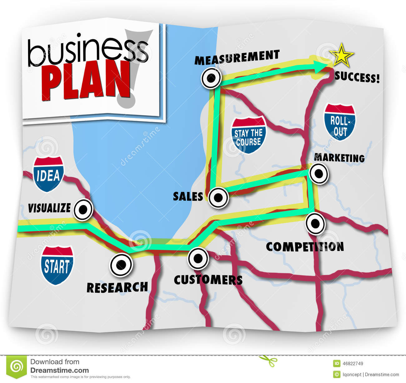 Map Start Up Success Road Directions Launch New Business Company – Road Map of Up