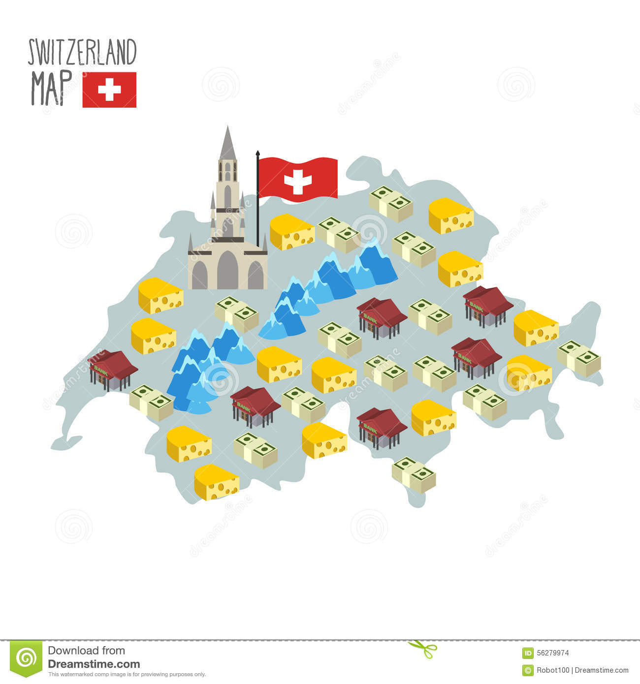Swiss cheese map of switzerland stock image image of cheese map of switzerland attraction of berne cathedral stock images buycottarizona Image collections