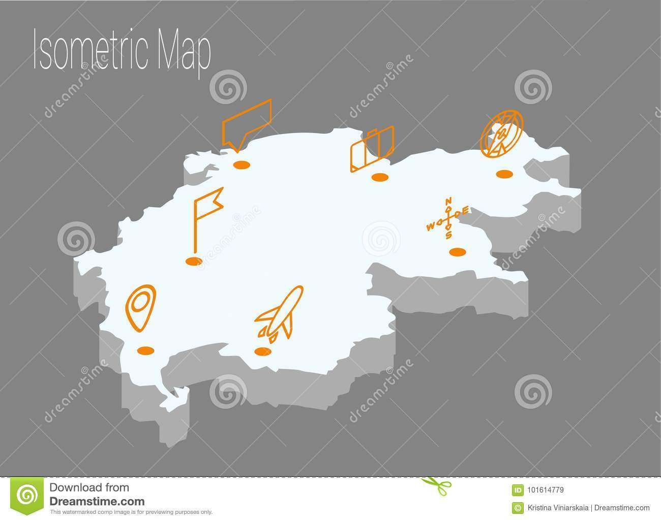 Map switzerland isometric concept stock vector illustration of download map switzerland isometric concept stock vector illustration of infographics network 101614779 gumiabroncs Images