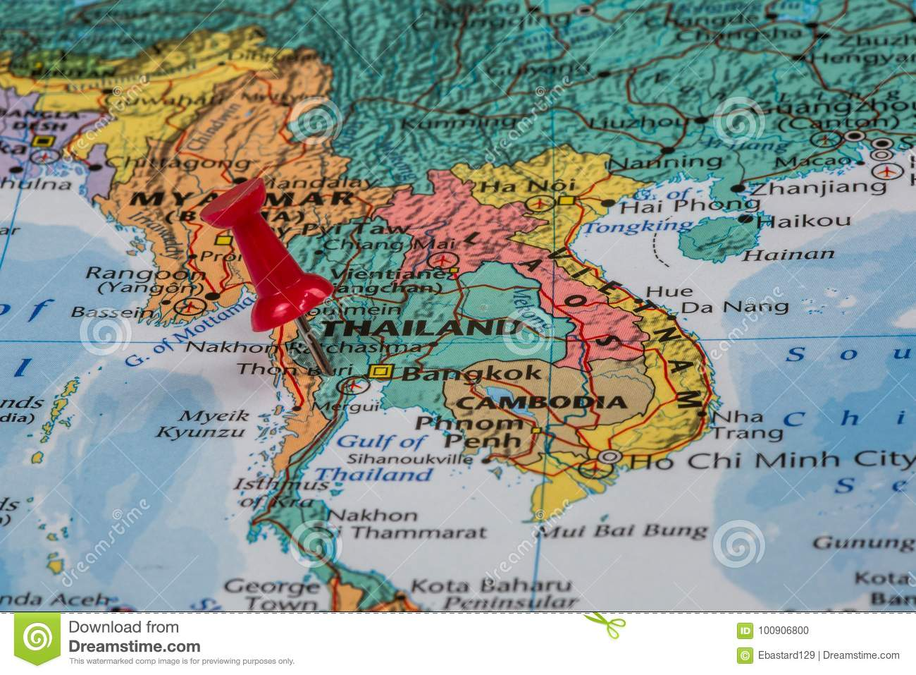 Asia Map Taiwan.Map Of Taiwan Stock Photo Image Of Asian Plan Background 100906800