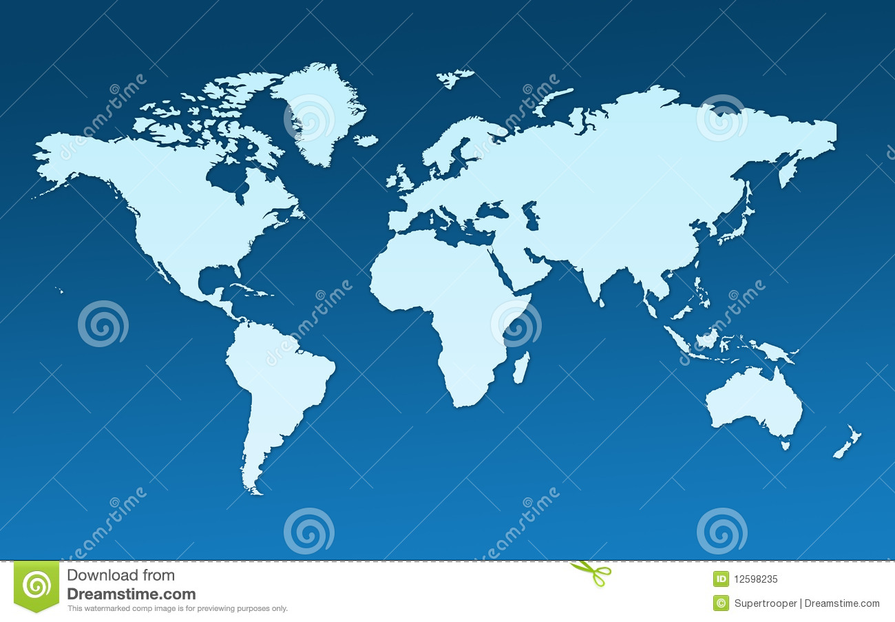 Map of the whole world stock illustration. Illustration of pattern ...