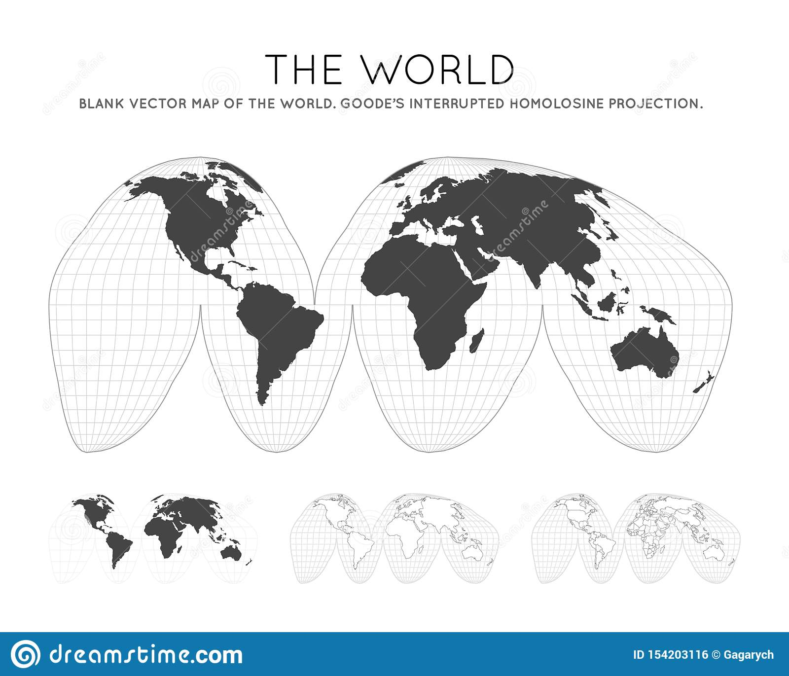 Map of The World. stock vector. Illustration of beautiful ...