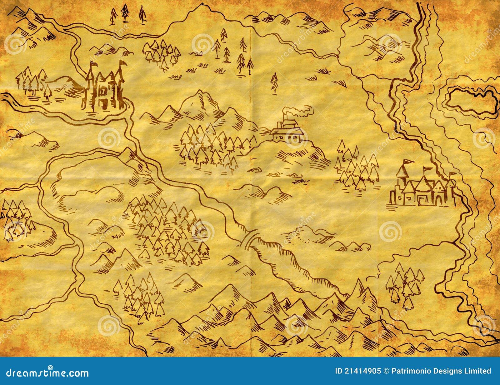 Map Of The World Grunge Royalty Free Stock Photo Image