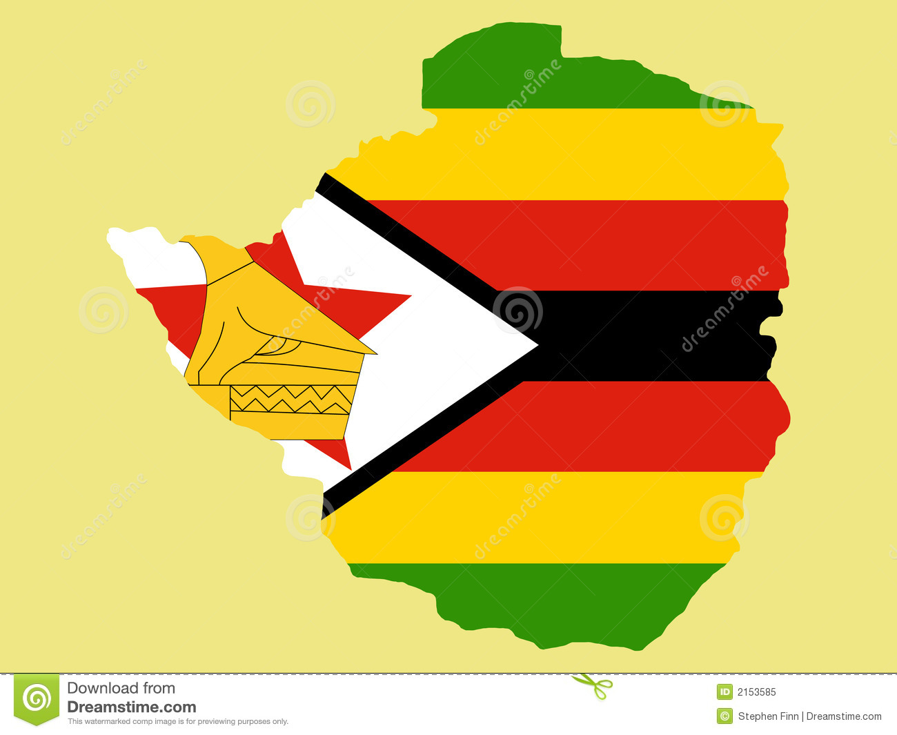 Map Pin In A Map Free Vector Instantshift Beautiful Free: Map Of Zimbabwe Royalty Free Stock Photo