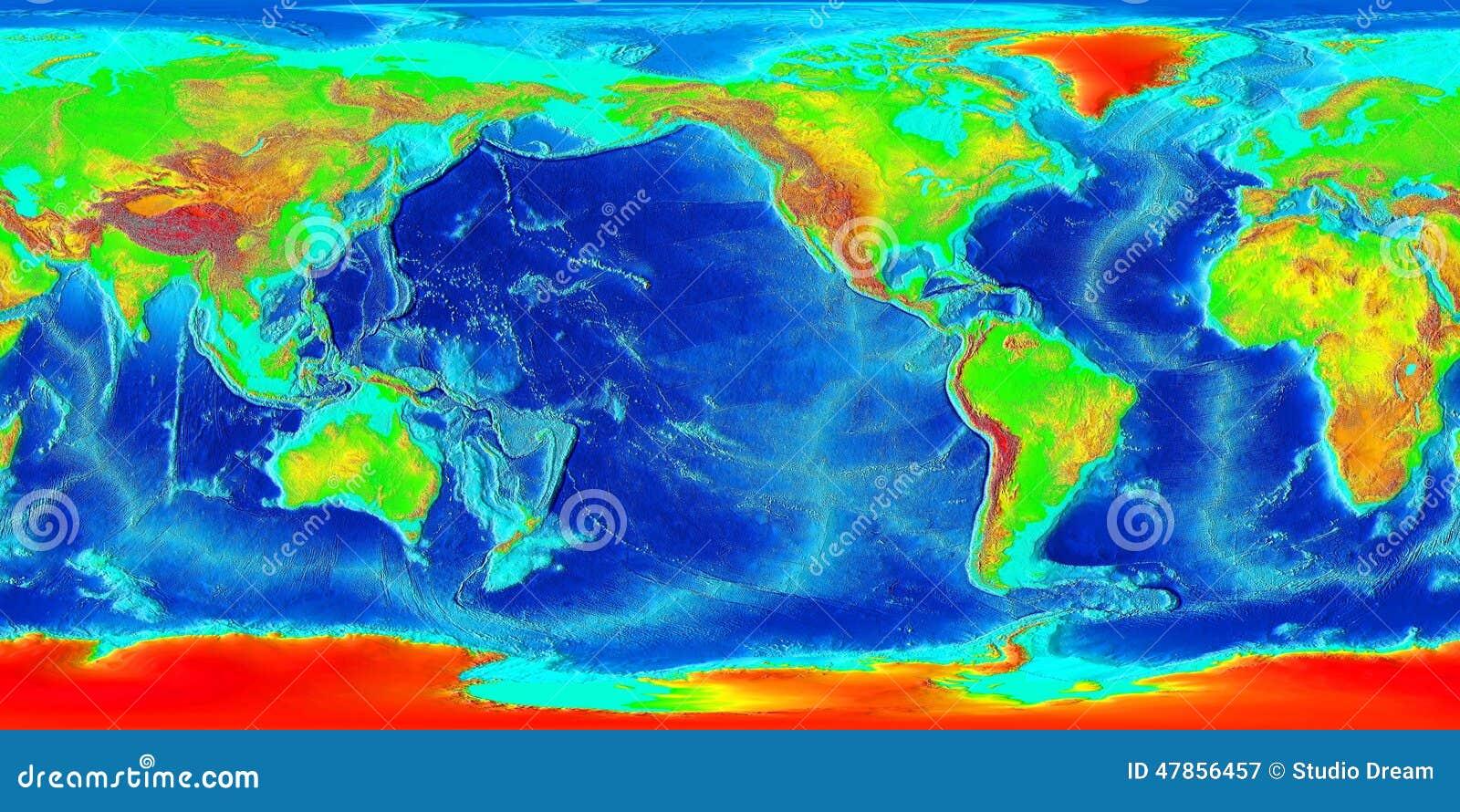 Mapa świata abstrakcyjne