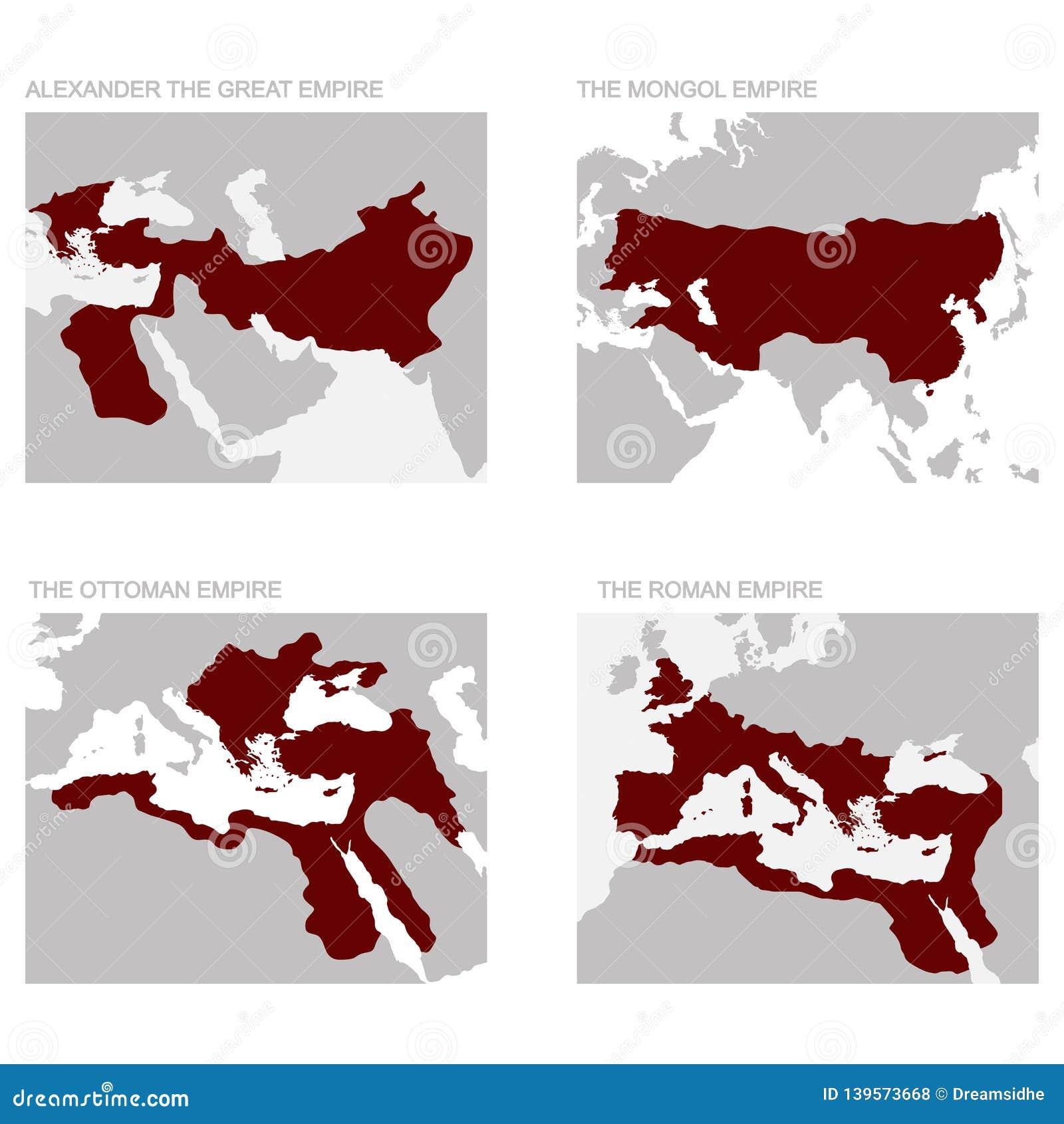 Mapa Antyczni imperia
