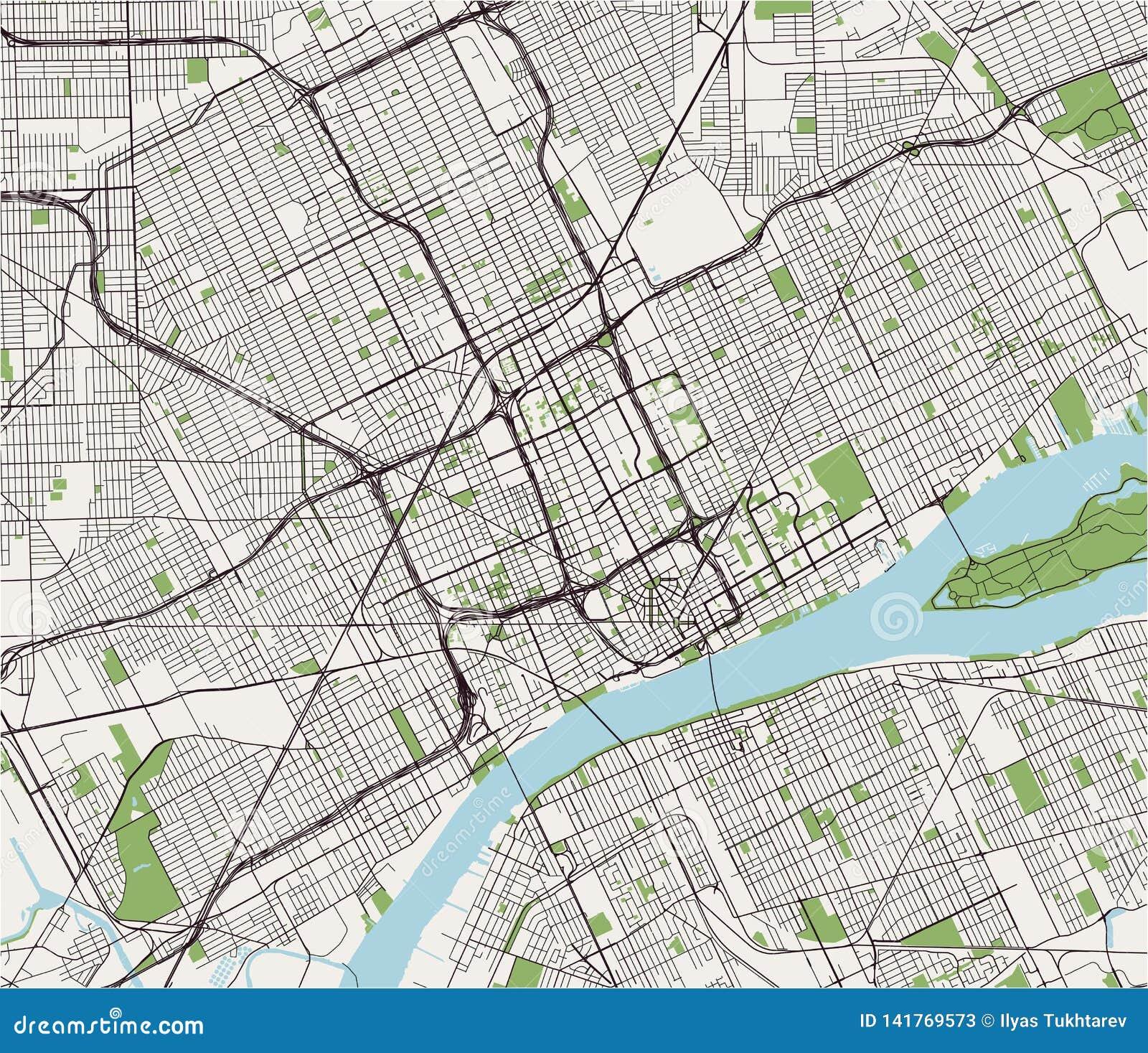 mapa da cidade de detroit michigan eua ilustracao stock ilustracao de area cidade 141769573 https pt dreamstime com mapa da cidade de detroit michigan eua do vetor image141769573