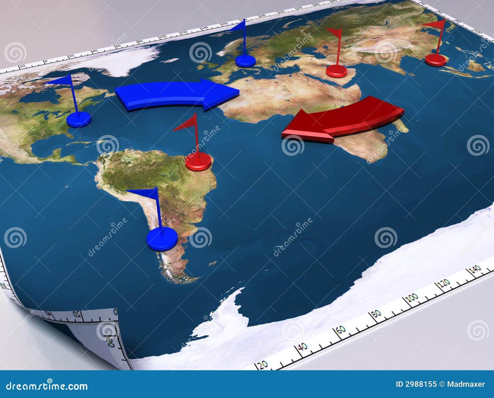 Mapa da guerra
