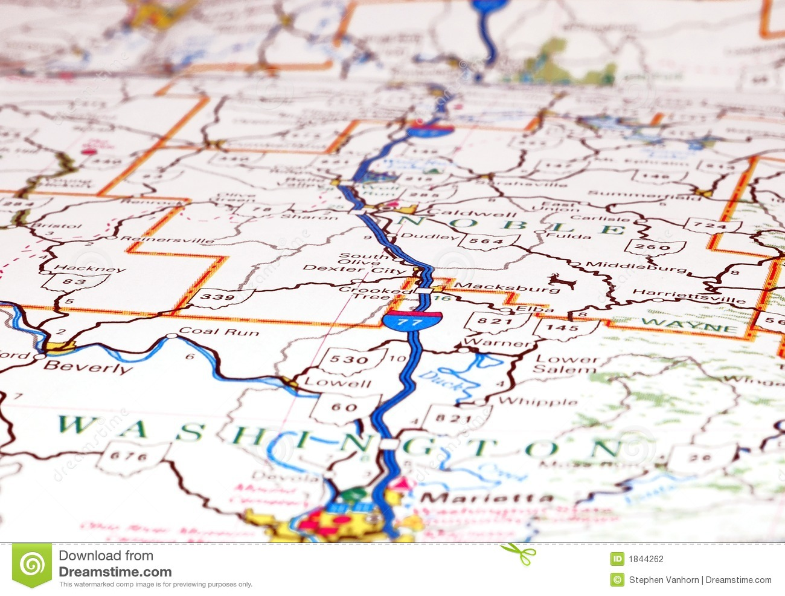 Mapa de estrada