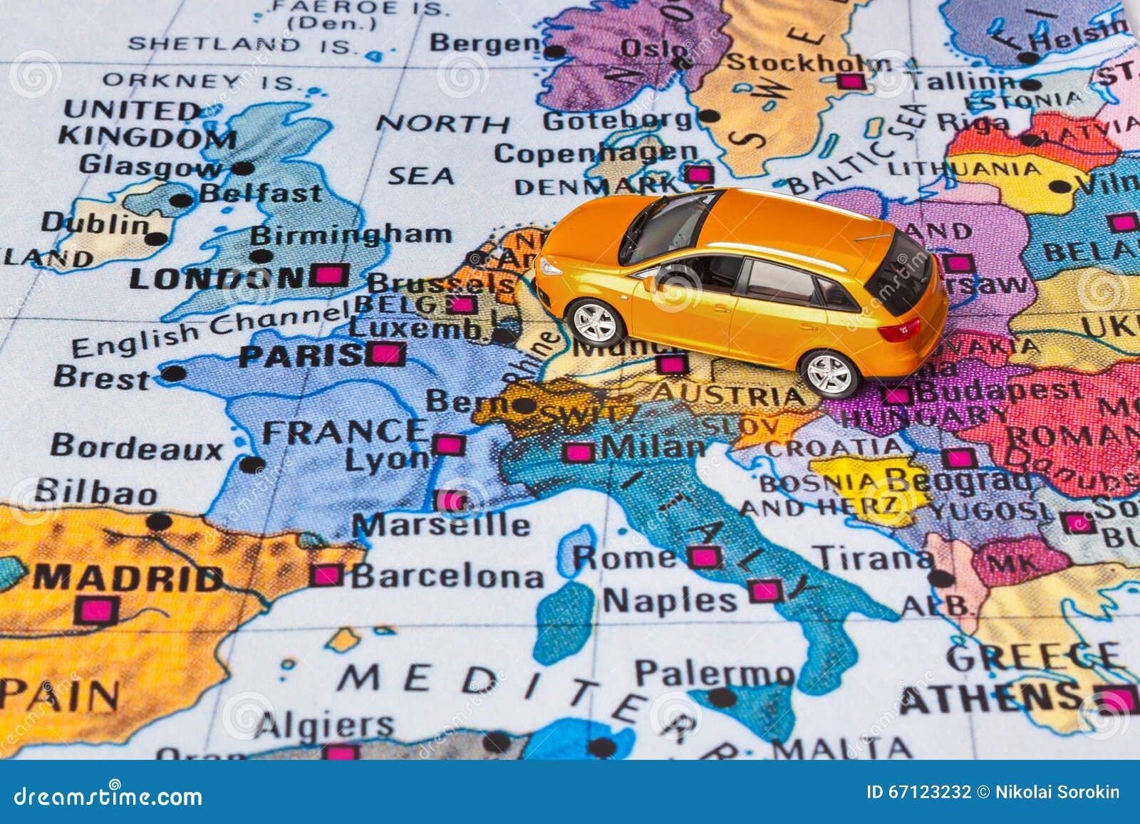 Auto Mapa Europa Free Download