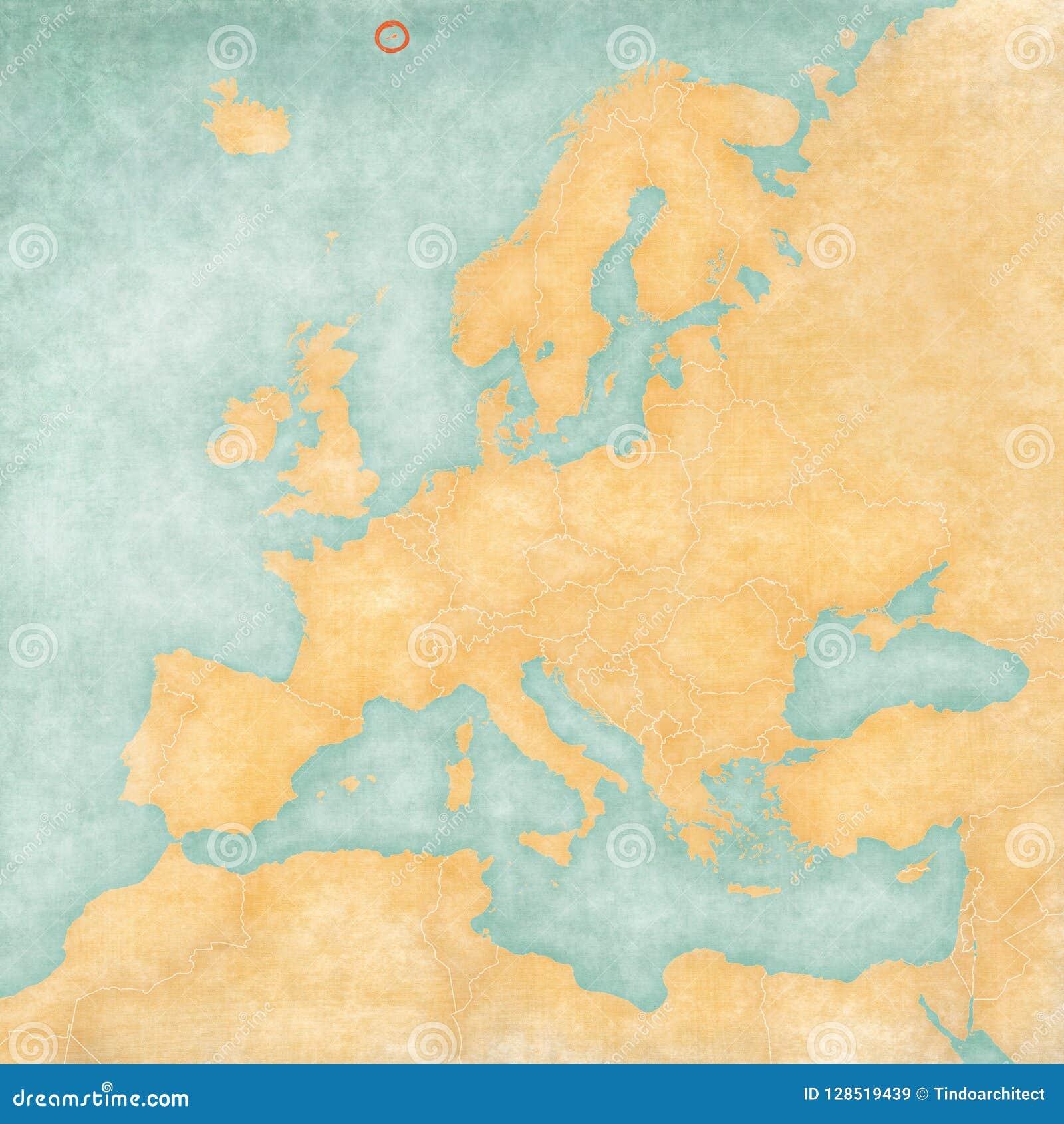 Mapa de Europa - Jan Mayen