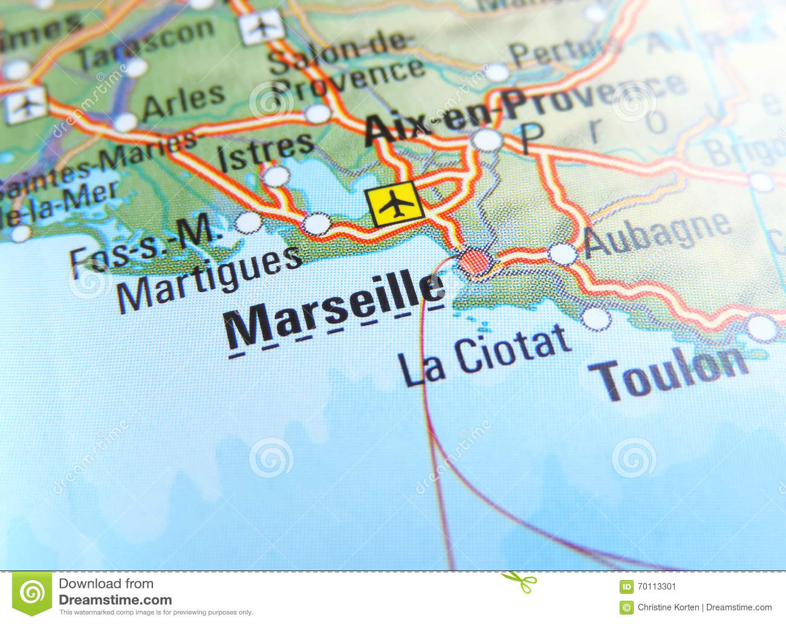 marselha mapa Mapa de Marselha imagem de stock. Imagem de aeroporto   70113301 marselha mapa