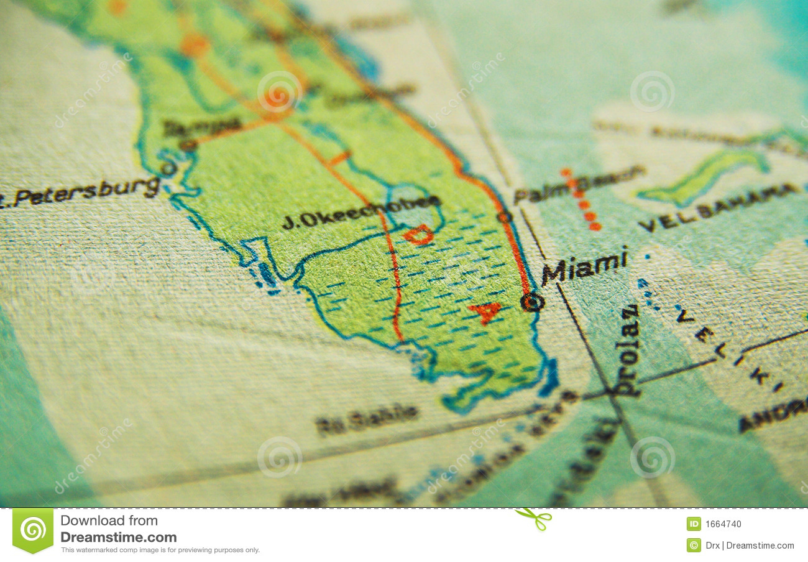 Mapa de Miami Florida