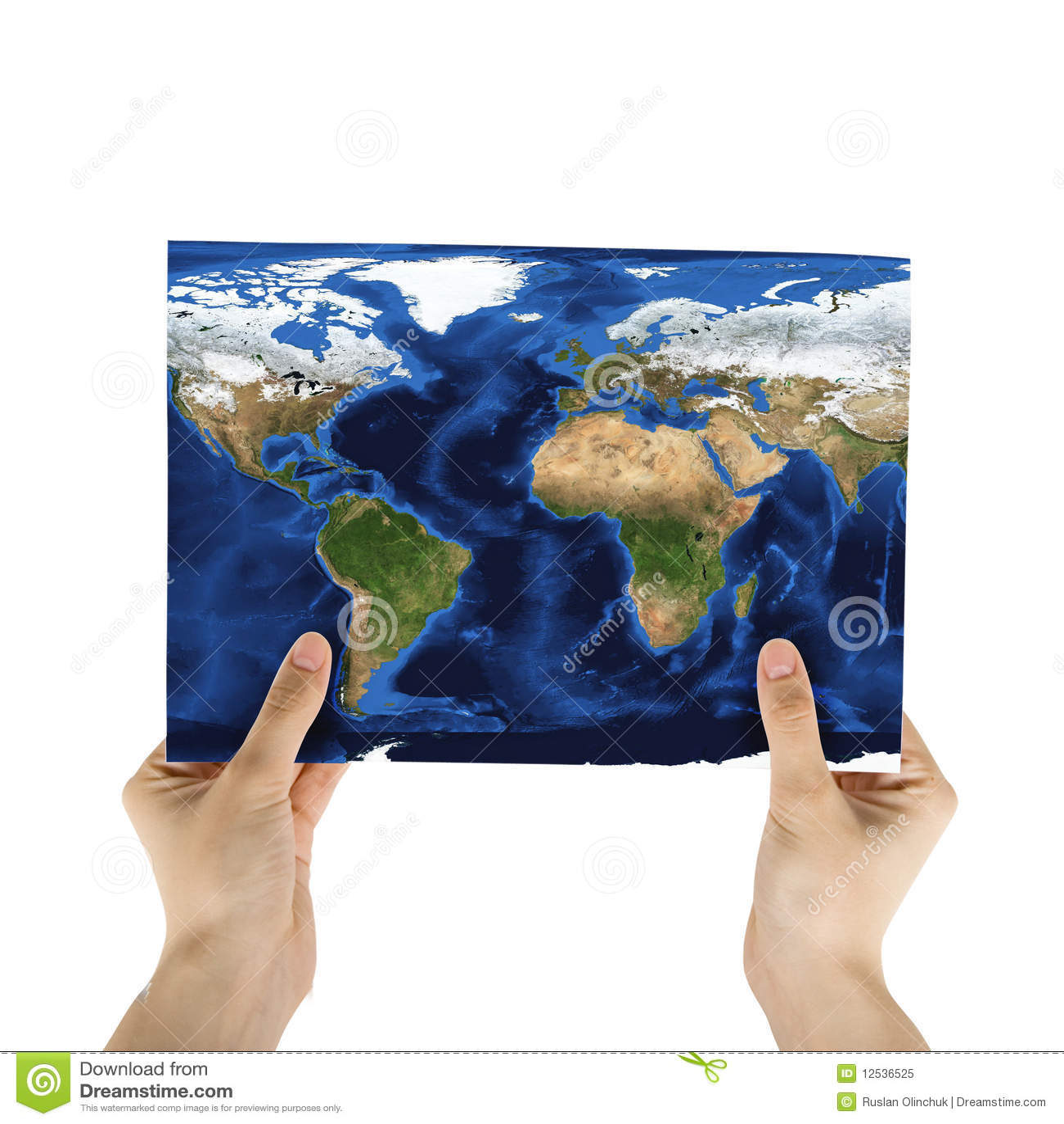 Mapa de papel