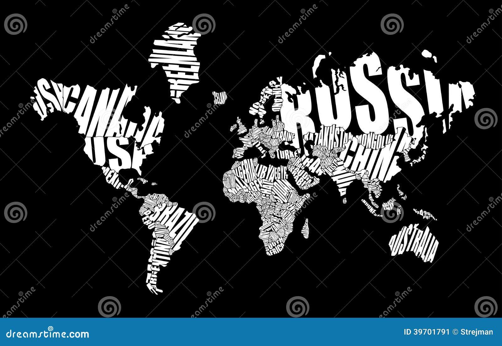 Mapa del mundo del texto