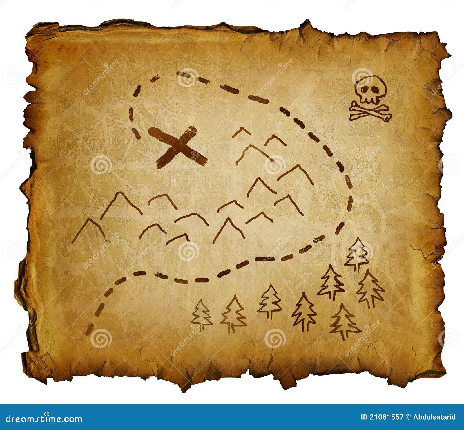 Coloring page x marks the spot -  Colouring Pages Pergamino Con El Mapa Del Tesoro Y Cr Neo Y Bandera Pirata Marcas X