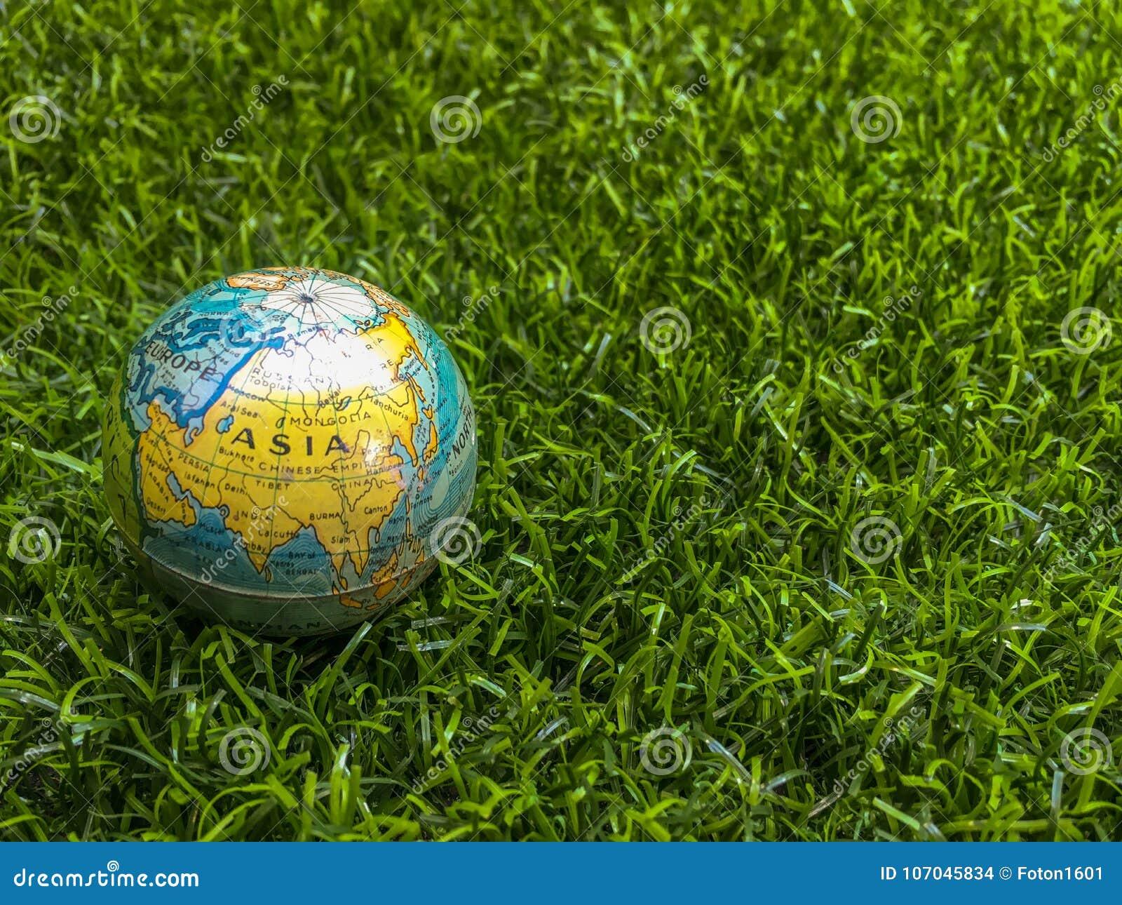 Mapa do mundo de Europa, América, Ásia, Índia, Nova Zelândia, zelo novo