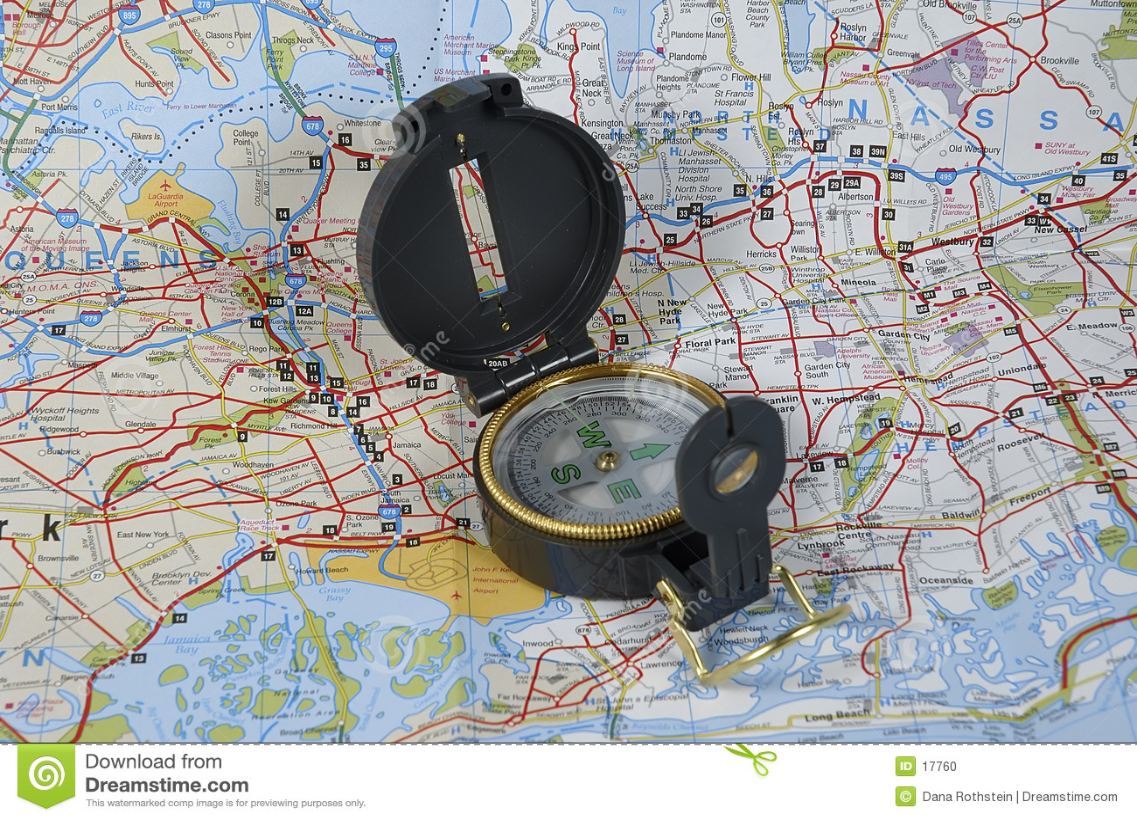 Mapa e compasso