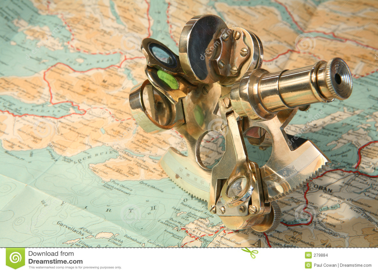 Mapa e sextant